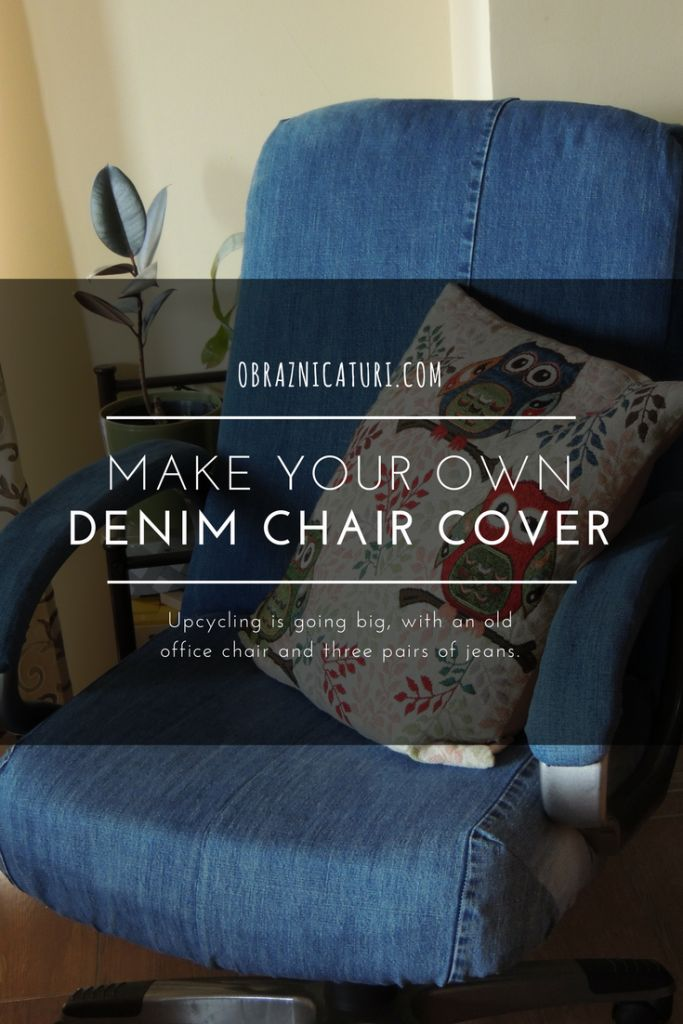 Sensational Fancy Makeover Jeans Upholstery For An Old Chair Gabi Theyellowbook Wood Chair Design Ideas Theyellowbookinfo