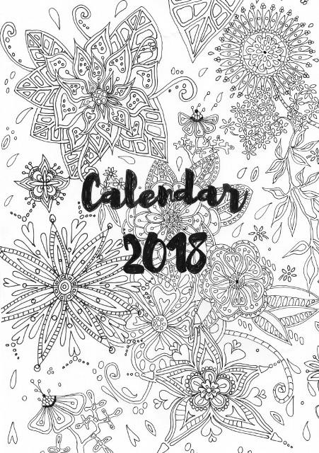 Coperta calendar 2018