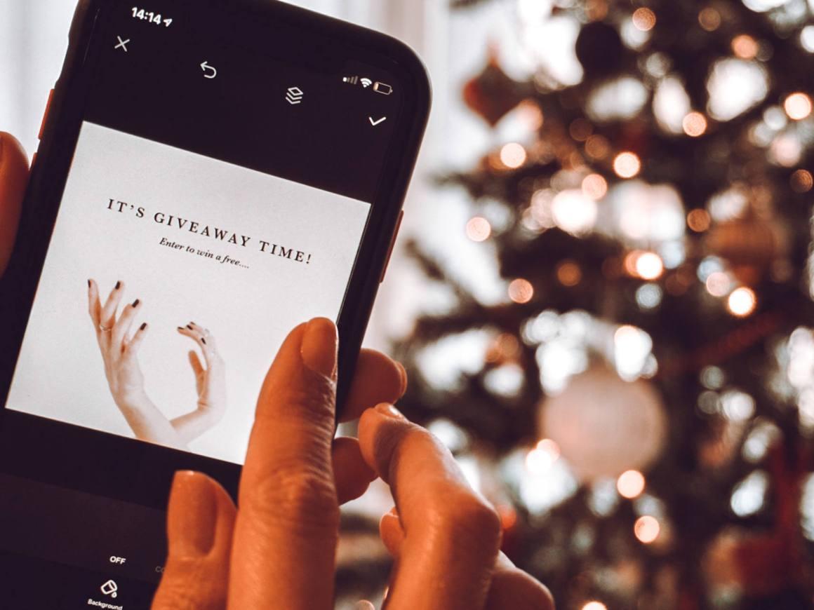 Stop doing giveaways on instagram