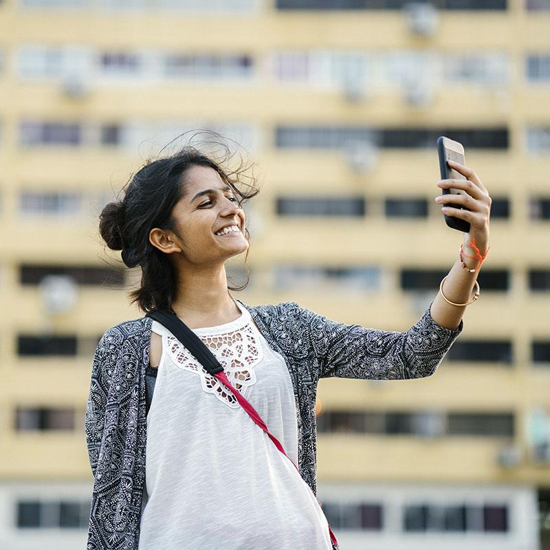 Pagar con un selfie