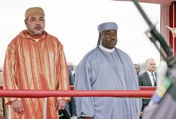 Mohamed VI à Libreville pour «signer» 4 nouveaux accords