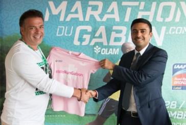 Olam et le Marathon du Gabon scellent un contrat de  partenariat jusqu'en 2018