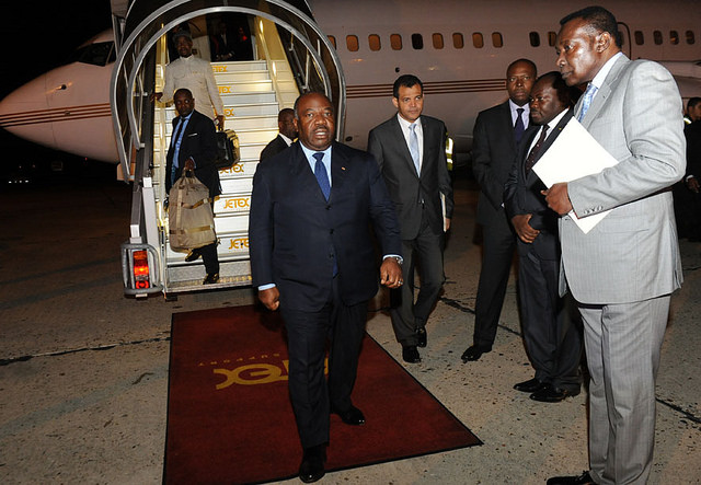 Ali Bongo Ondimba zappe le sommet Inde-Afrique pour aller à Paris
