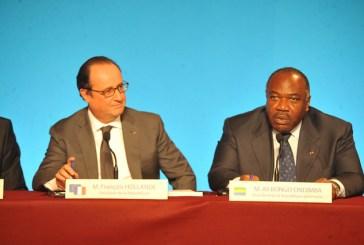 Ali Bongo et François Hollande déjeunent à l'Elysée sur fonds de climat