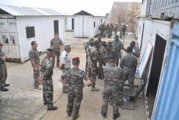 450 soldats gabonais formés par la France pour rejoindre la MINUSCA  à Bangui