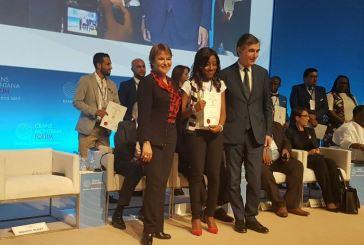 Leadership international : Dina Koussou primée New leader du futur par la fondation Crans Montana au Maroc