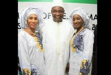 Gambie : Marié à deux femmes, le président Adama Barrow a choisi la First Lady