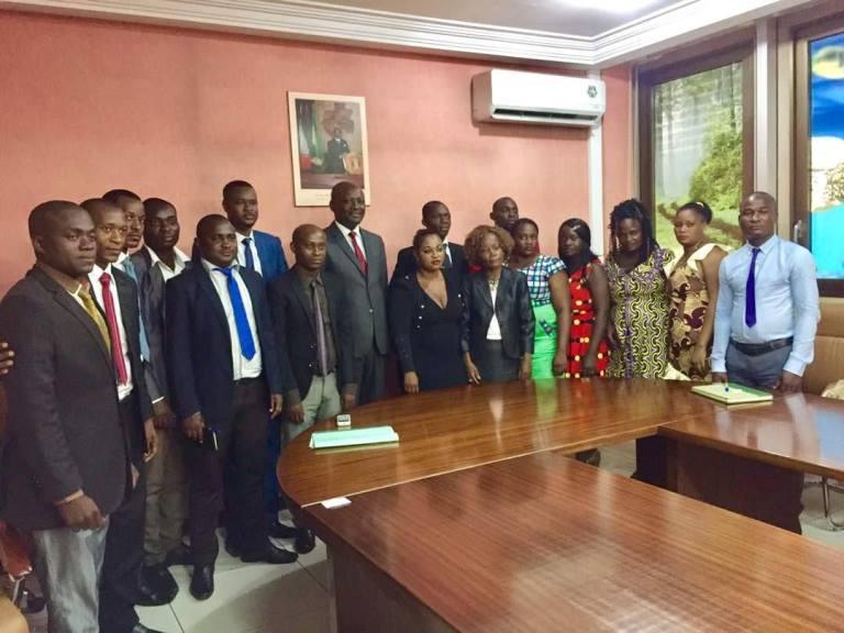 Les jeunes cadres de l'Ogooué-Ivindo admirent la politique volontariste de Bruno Ben Moubamba