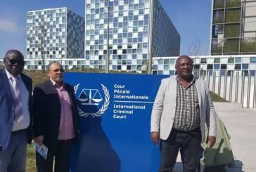 Georges Mpaga et Ngoussi font le bilan de leur mission à la CPI ce vendredi à Libreville