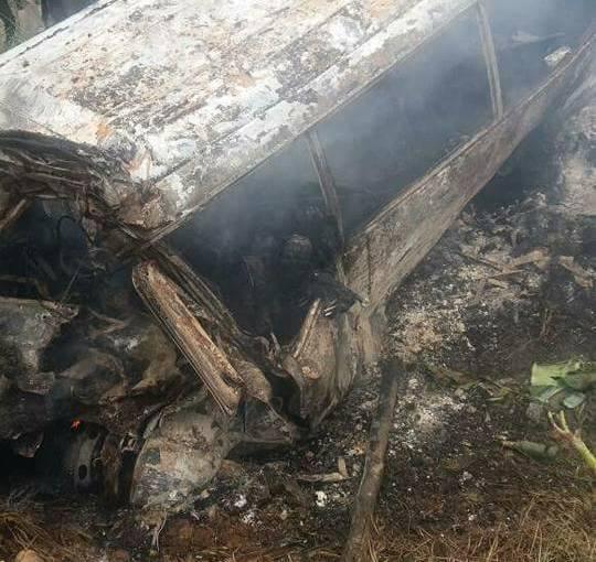 Plusieurs morts dans un grave accident de la circulation vers Kango