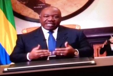 Message à la nation du Président Ali Bongo Ondimba à l'occasion du nouvel an 2018