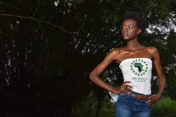 Une belle gabonaise candidate à Miss Africa Calabar 2017au Nigeria