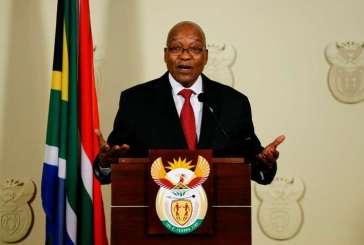Jacob Zuma est tombé