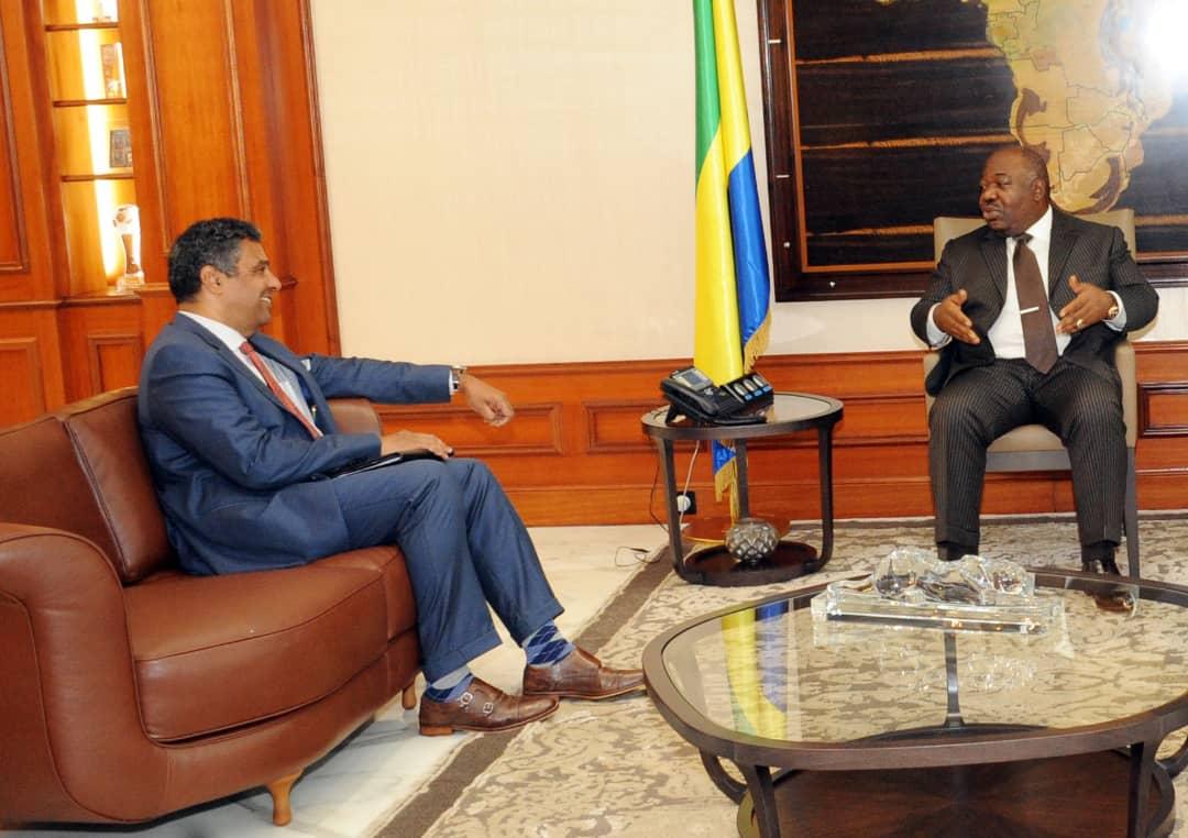 L'ambassadeur des Etats-Unis chez Ali Bongo Ondimba