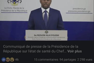 Urgent : Monsieur le Président de la République va mieux (porte parole)