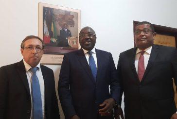 Le nouveau DG de COMILOG présenté au ministre des Mines