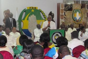 Omar Bongo Ondimba  a été un socle qui a su préserver notre pays des clivages ethniques et politiques (Eric Dodo Bounguendza, SG du PDG)