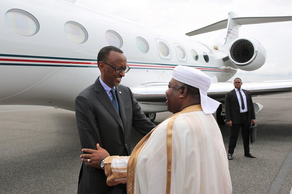 Paul Kagamé à Libreville ce lundi pour rencontrer Ali Bongo Ondimba