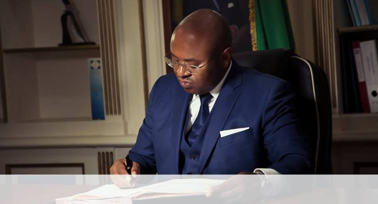 Jean Fidèle Otandault, ancien ministre de la promotion des investissements et des partenariats publics-privés