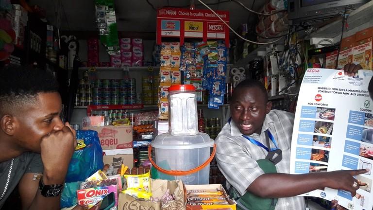 Les vendeurs de pains de Libreville sensibilisés sur la manipulation et la conservation du pain