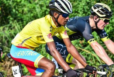 5ème étape de la Tropicale Amissa Bongo 2020 : l'Erythréen Natnael Tesfazion conserve le maillot jaune mais perd deux secondes