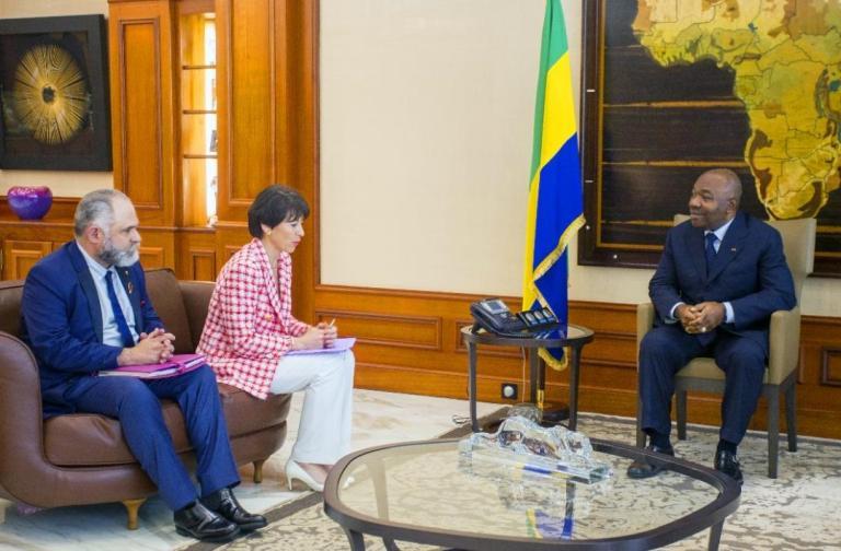Ali Bongo et Christel Bories ont fait le point des activités du groupe Eramet au Gabon
