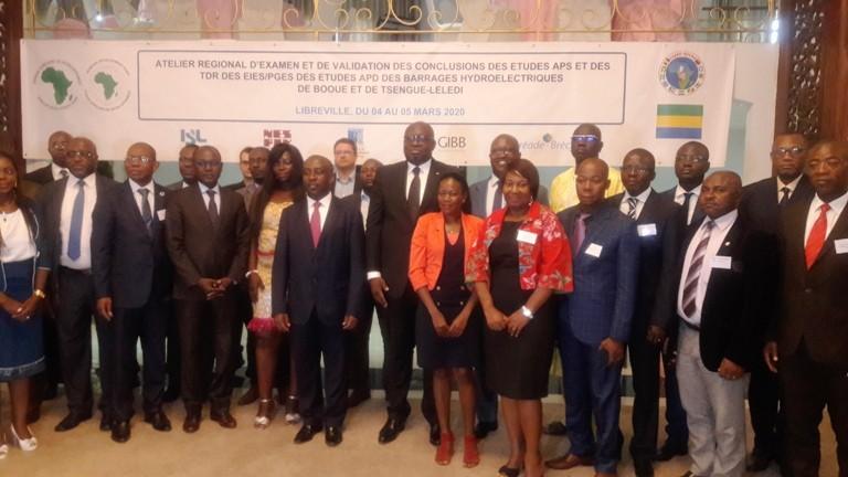 CEEAC : l'aménagement des sites hydroélectriques de Booué et de Tsengue-Lélédi au cœur des discussions à Libreville