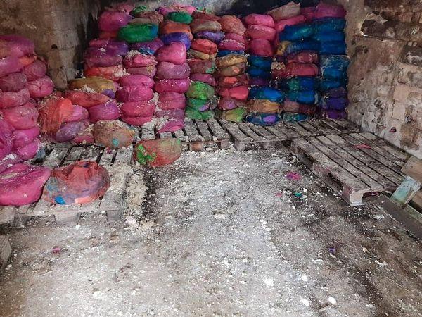 L'AGASA détruit 1000 sacs de pâte de maniocs non-conformes aux normes sanitaires