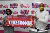 PMUG: une parieuse gagne 10745000 FCFA au Loto Superjack
