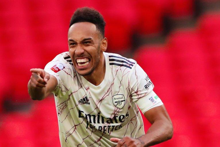 Arsenal félicite Aubameyang sélectionné dans l'équipe type de la Première Ligue anglaise