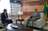 Le nouvel ambassadeur du Japon au Gabon chez Guy Patrick Obiang Ndong