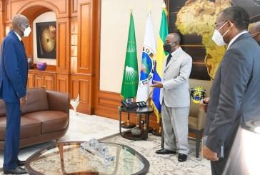 L'ambassadeur du Sénégal était chez Ali Bongo ce mardi
