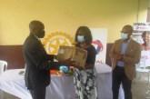 Lutte contre le Covid-19: le Rotary Club Libreville Sud offre des masques et gels hydroalcooliques aux écoliers d'Owendo