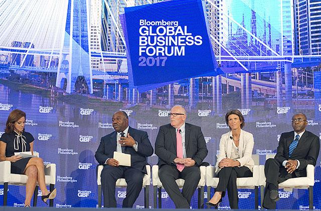 ONU : quand Emmanuel Macron rencontre Ali Bongo Ondimba
