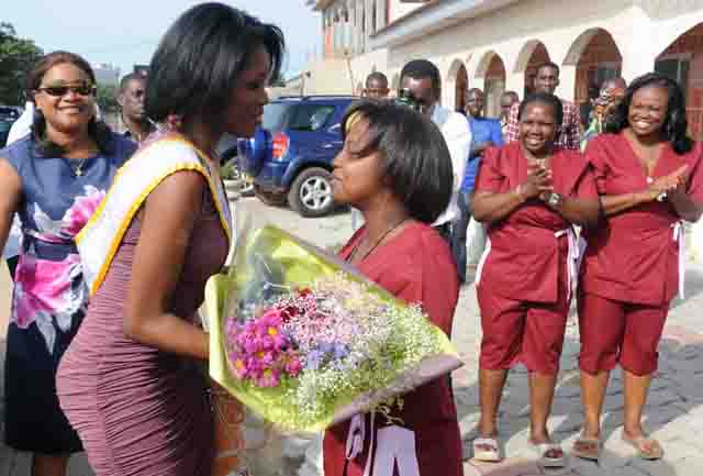Marie Noëlle Ada Meyo Miss Gabon 2012