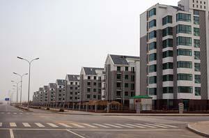 Gabonreview.com - 1 m d'immeubles vides à Ordos - © D.R.