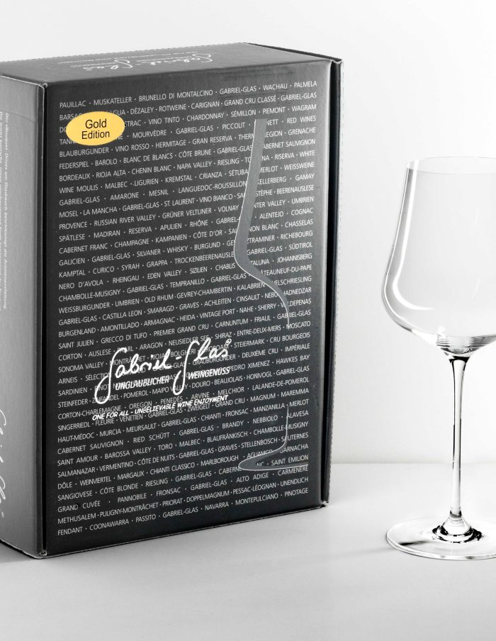 Gabriel-Glas Gold Edition two-pack universal stemware