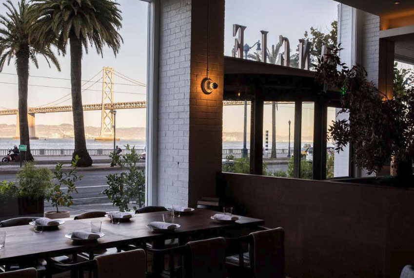 New San Francisco Restaurant + Gabriel-Glas