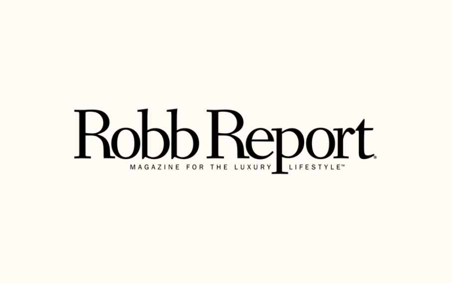 "The Robb Report: ""The only glass they'll ever need"""