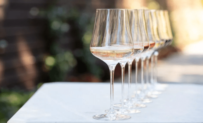 gabriel-Glas StandArt wine glass featured in eater article The 5 Fanciest Wine Glasses You Haven't Heard Of