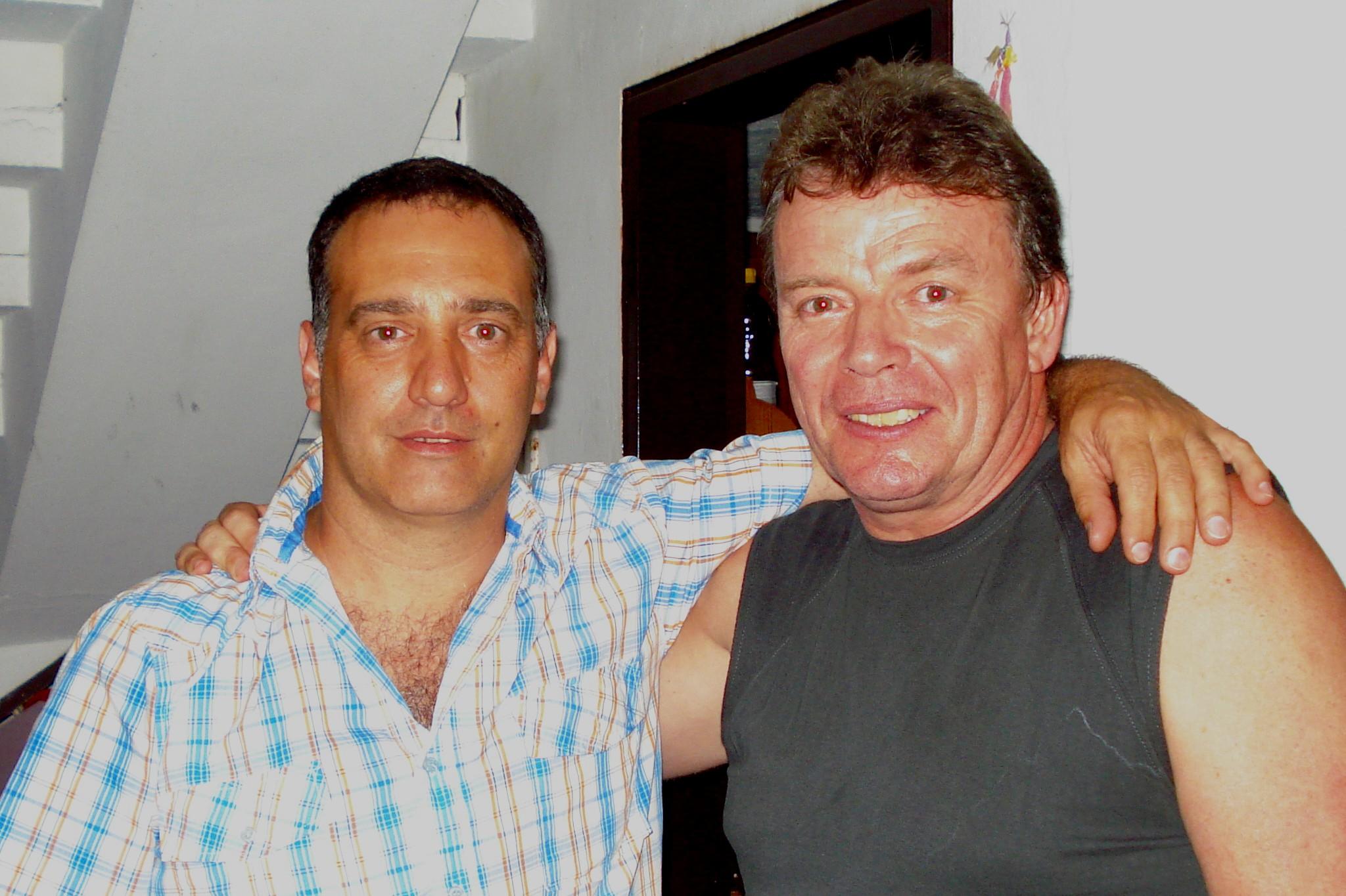 Guillermo y Capi Marichal dos potencias.