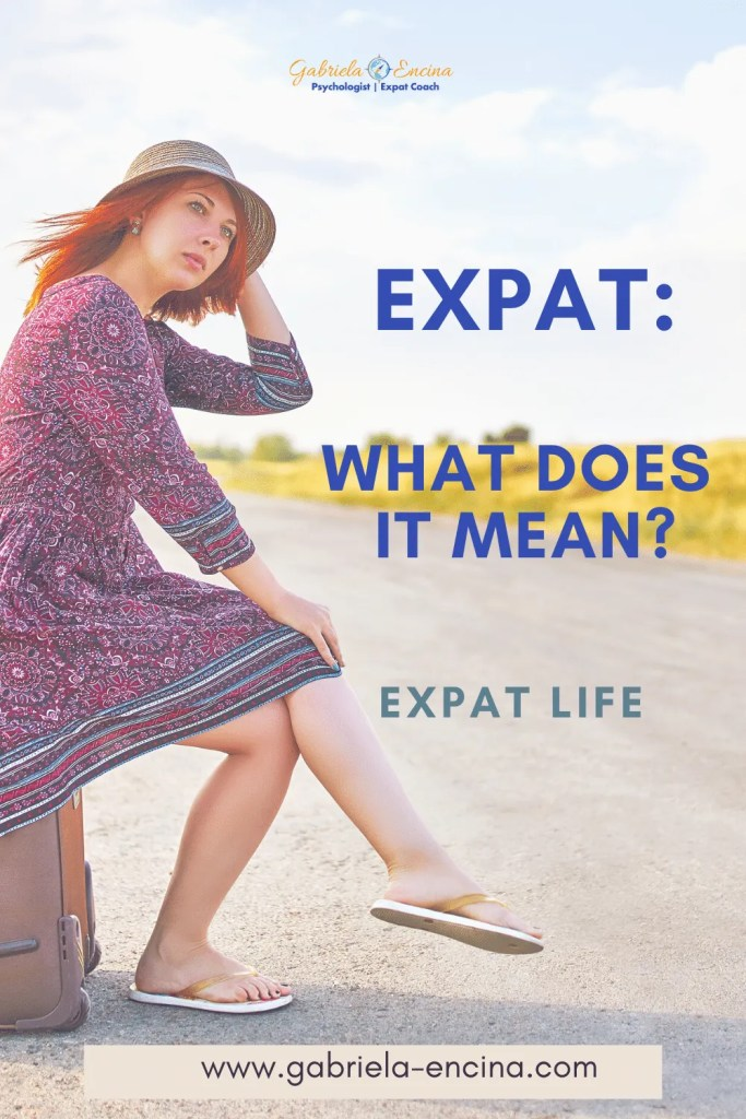 expat woman what does it mean