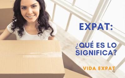 ¿Qué significa EXPAT?