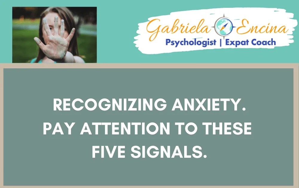 Recognizing Anxiety: 5 signals to Bear in Mind