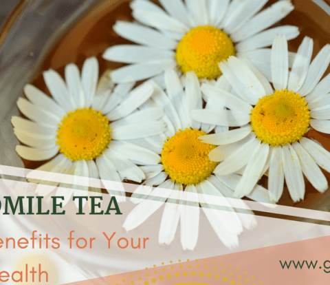 Chamomile Tea - Amazing Benefits for Your Health- www.gabriela.green - Featured