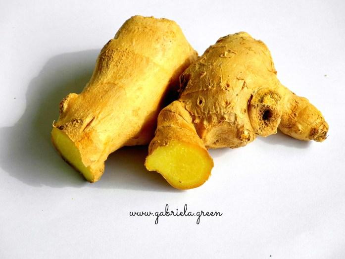 Autumn Teas I Love. Fresh Ginger. Gabriela Green