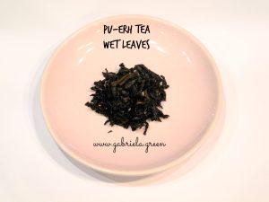 Beginner's guide to Pu-erh tea |Pu-erh wet leaves| Gabriela Green