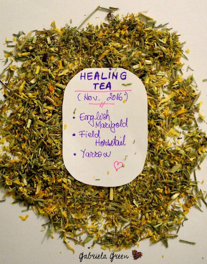 DIY: Healing Tea Find the ingredients and the benefits of a great healing tea.   Gabriela Green Blog   www.gabriela.green