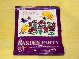 Karel Capek tea review | Garden Party teabag | Gabriela Green blog