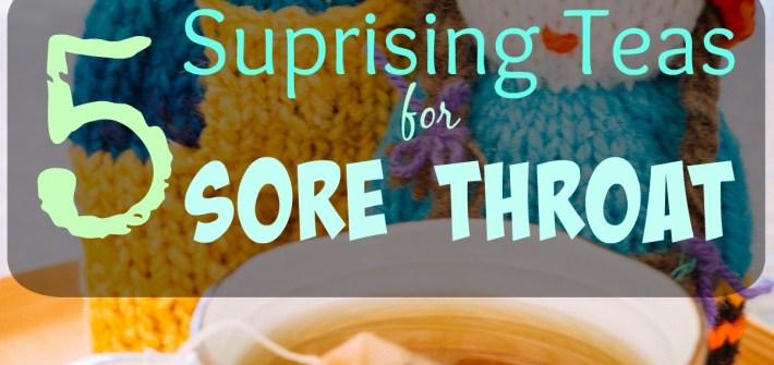 Teas for sore throat | Gabriela Green Tea blog | www.gabriela.green